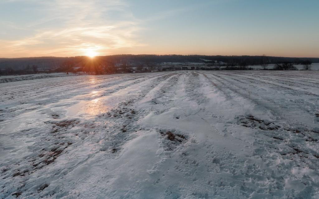 Солнце всходит над деревней Крутой Овраг, Собинский р-н