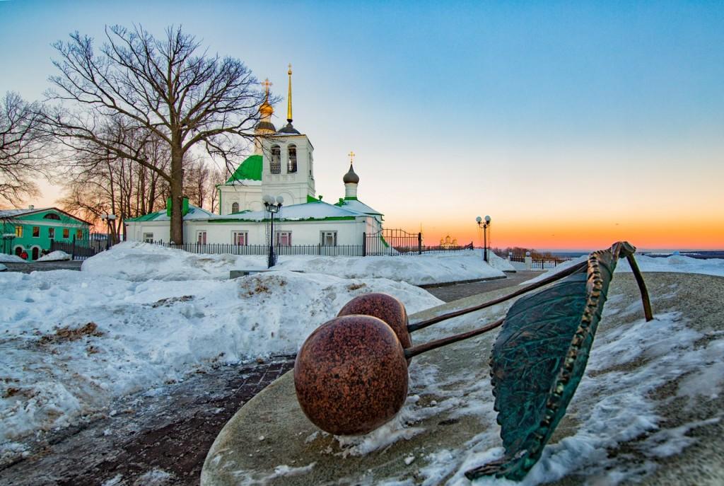 Тихие зимние будни на пешеходке (г. Владимир) 01
