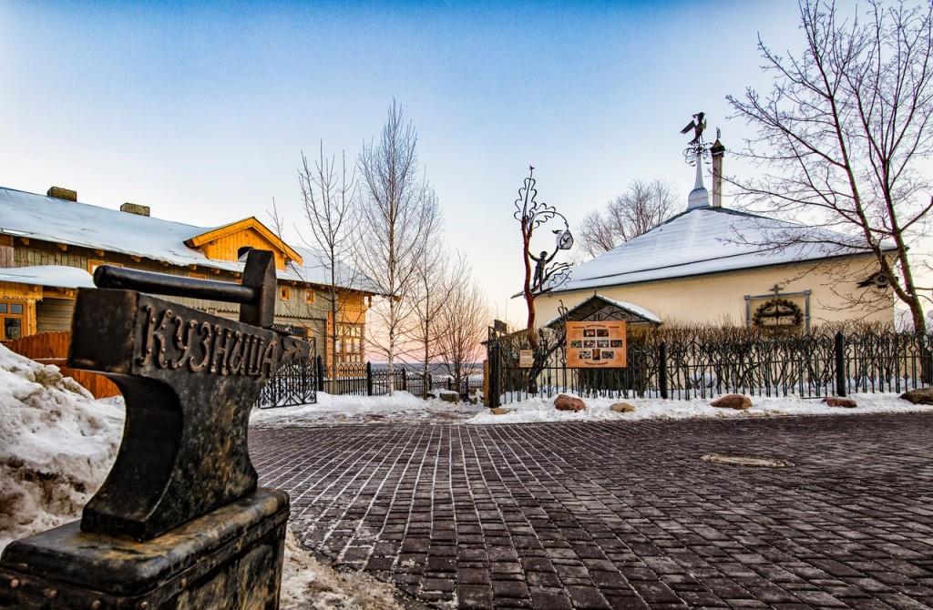 Тихие зимние будни на пешеходке (г. Владимир) 03