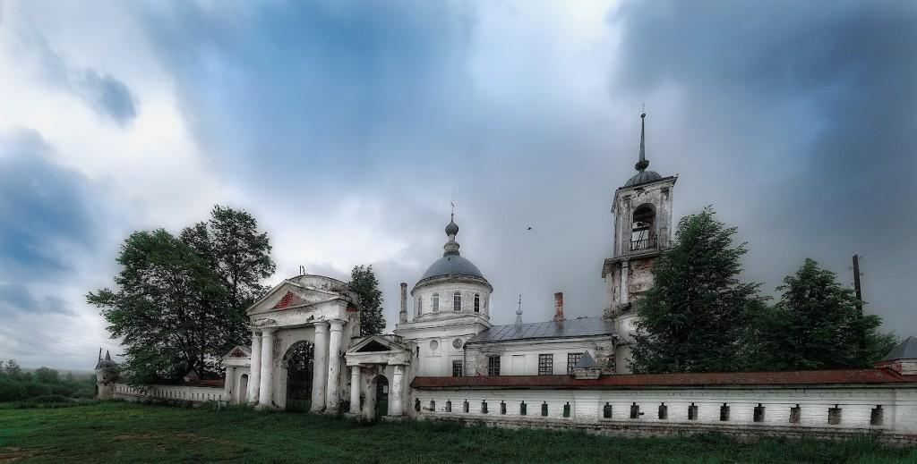 Троицкая церковь, 1801 с. Горки, Камешковский р-н
