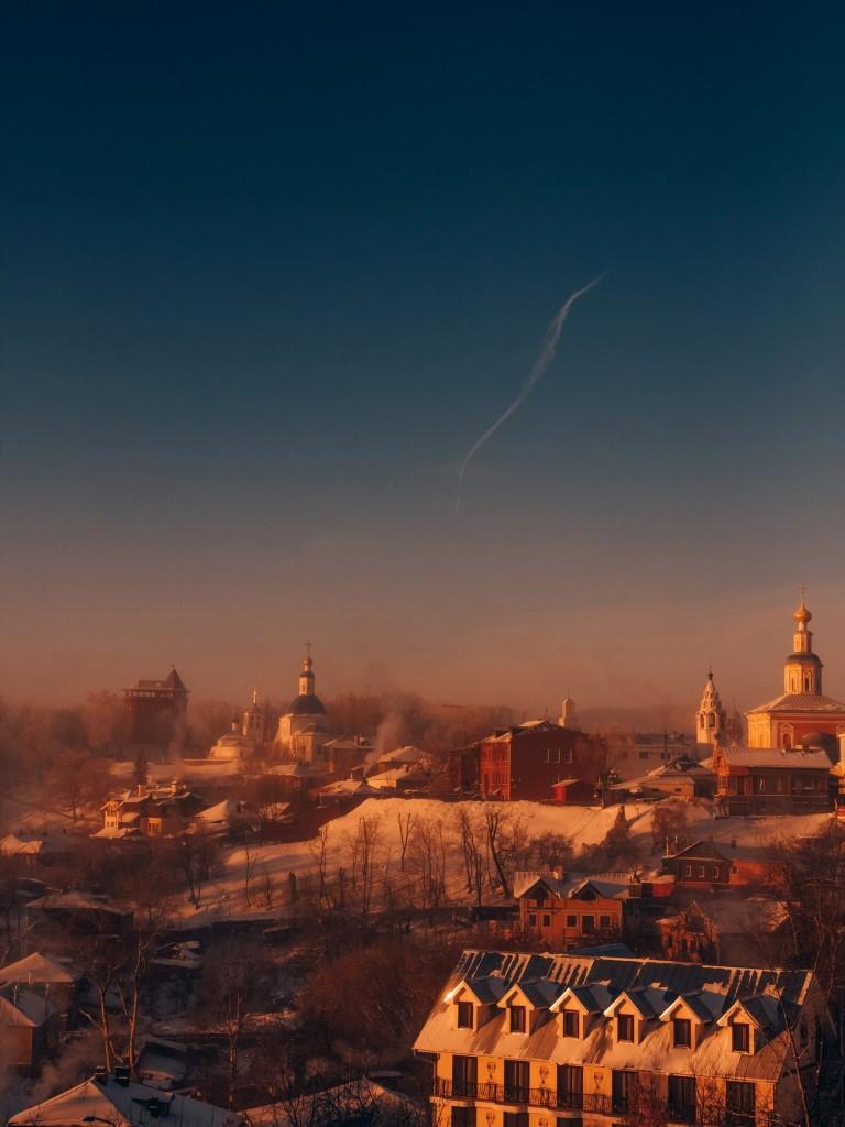 Январь, -30 во Владимире 01