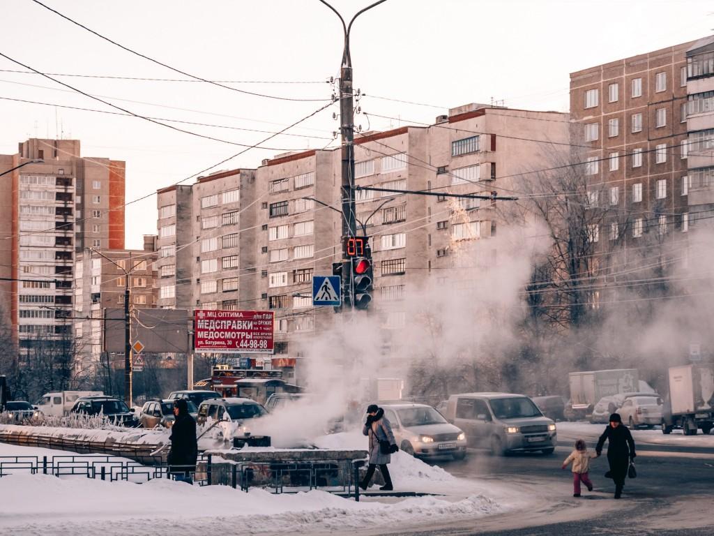Январь, -30 во Владимире 10