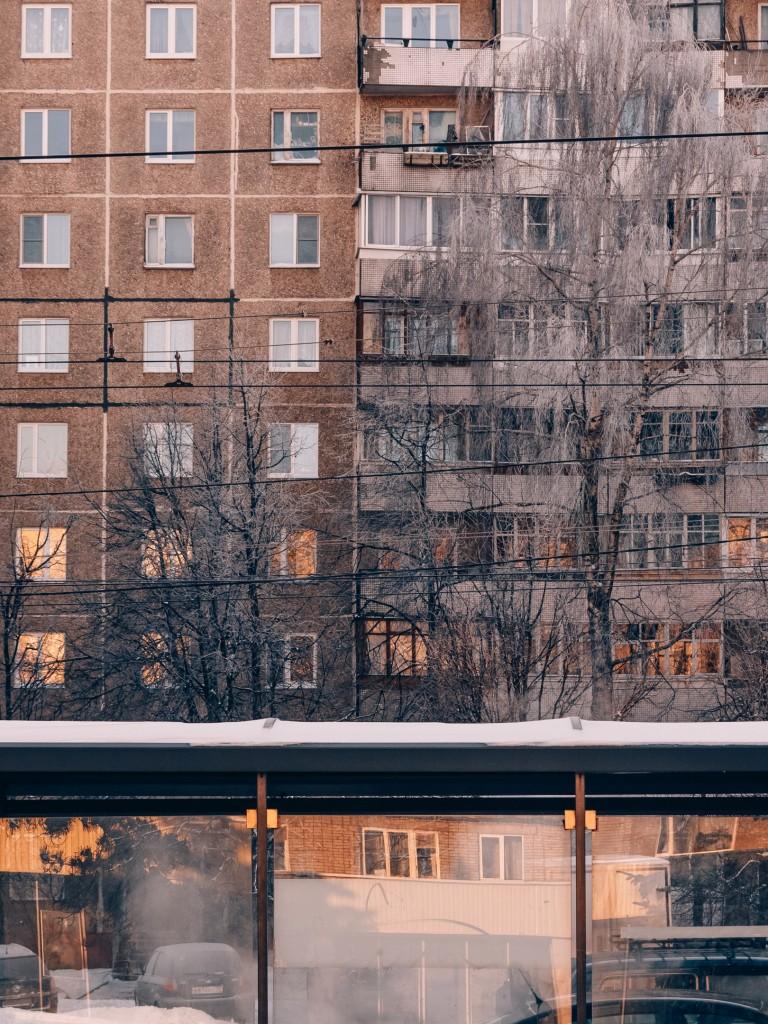 Январь, -30 во Владимире 11