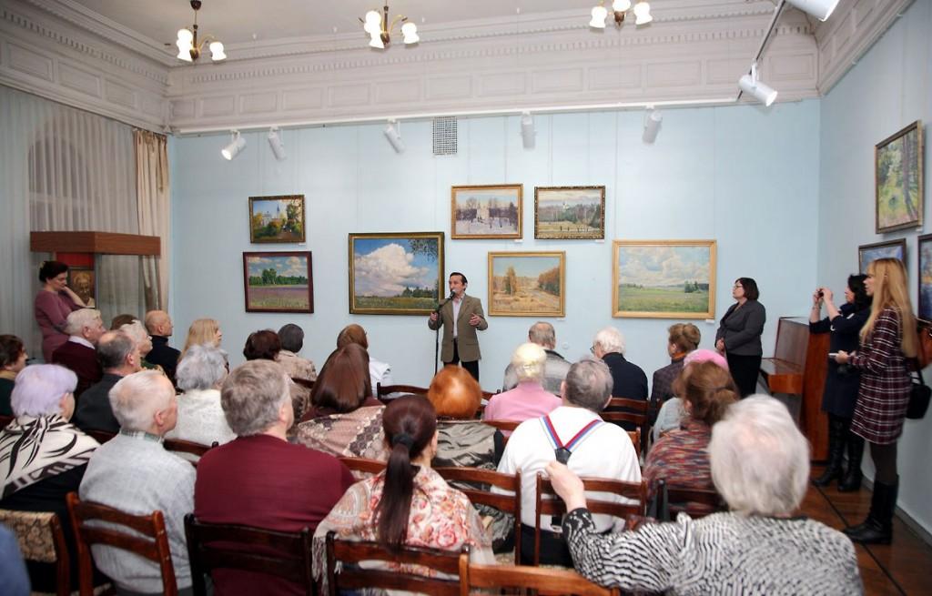 выставка художников-передвижников Ивановской и Владимирской областей 01