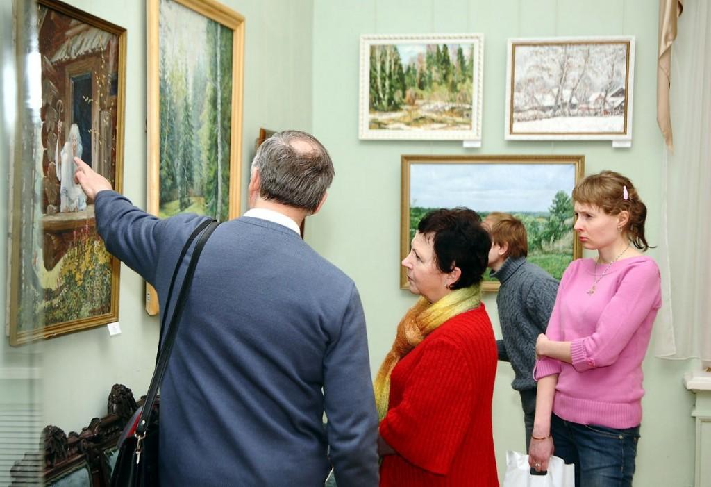 выставка художников-передвижников Ивановской и Владимирской областей 04