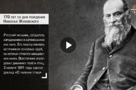 Николай Егорович Жуковский, уроженец Собинского района