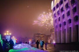 31 декабря 2016 г. в центре Владимира