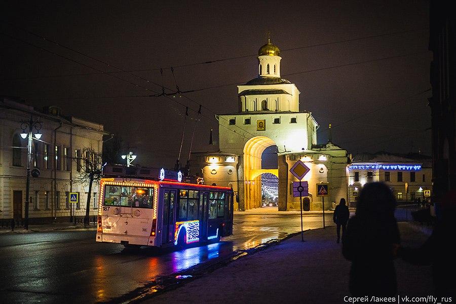 31 декабря 2016 г. в центре Владимира 12