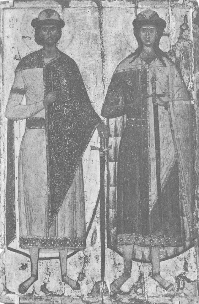 «Борис и Глеб», икона