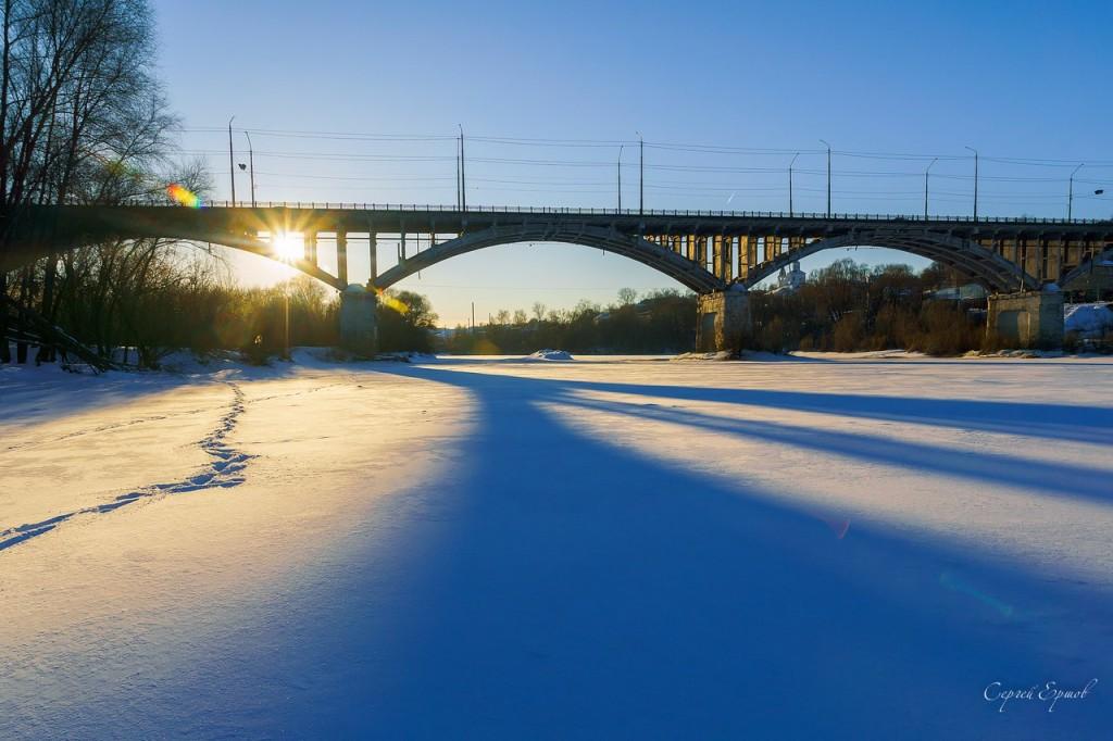 Автомобильный мост через Клязьму. Владимир