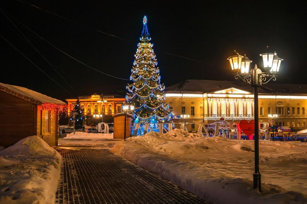Владимирские новогодние открытки 07