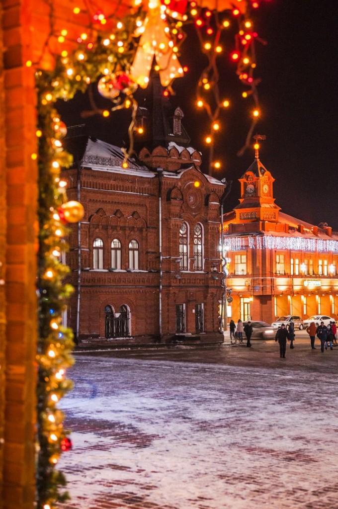Владимирские новогодние открытки 08