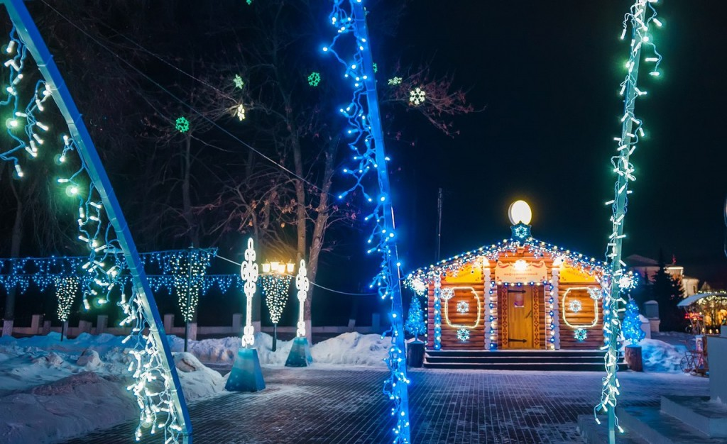 Владимирские новогодние открытки 09