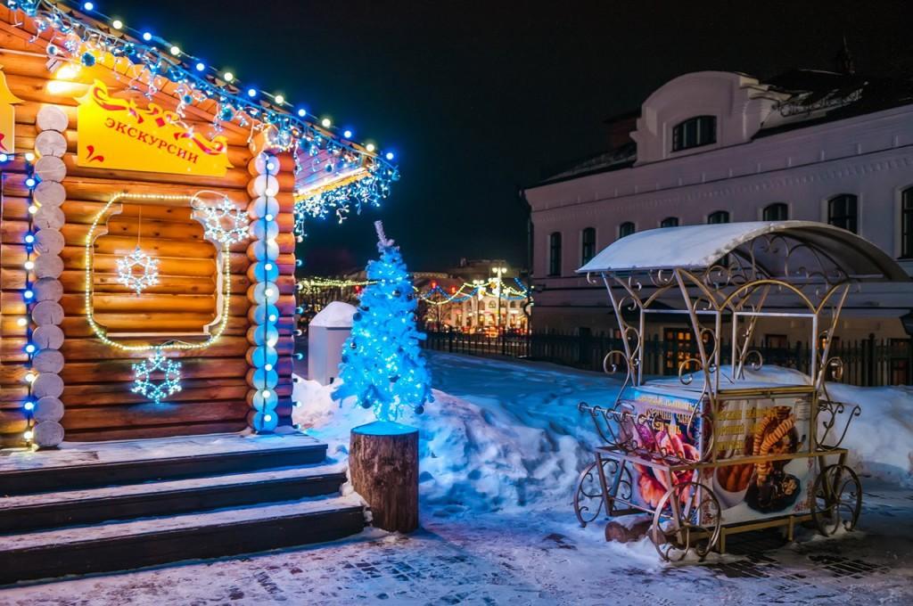 Владимирские новогодние открытки 10