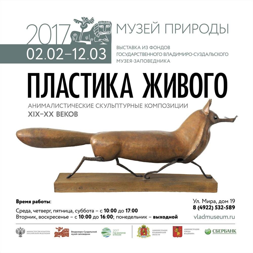 Выставка «Пластика живого» в Музее природы Владимира 01