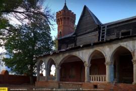 Главный дом усадьбы фабриканта Сенькова