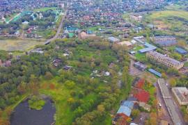 Город Александров с высоты в августе 2016 года