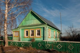 Деревня Аксёново, Гусь-Хрустальный район