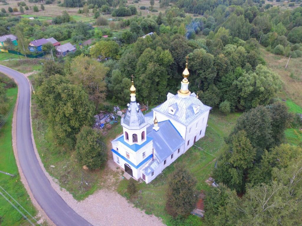Задворки Александровского района Владимирской области - село Григорово 05