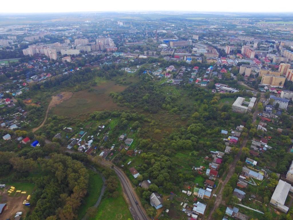 Летние виды Александрова с высоты 02