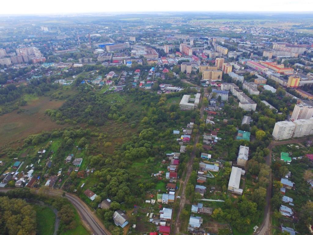 Летние виды Александрова с высоты 03