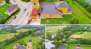Собор Николая Чудотворца на Селивановой горе в городе Киржач