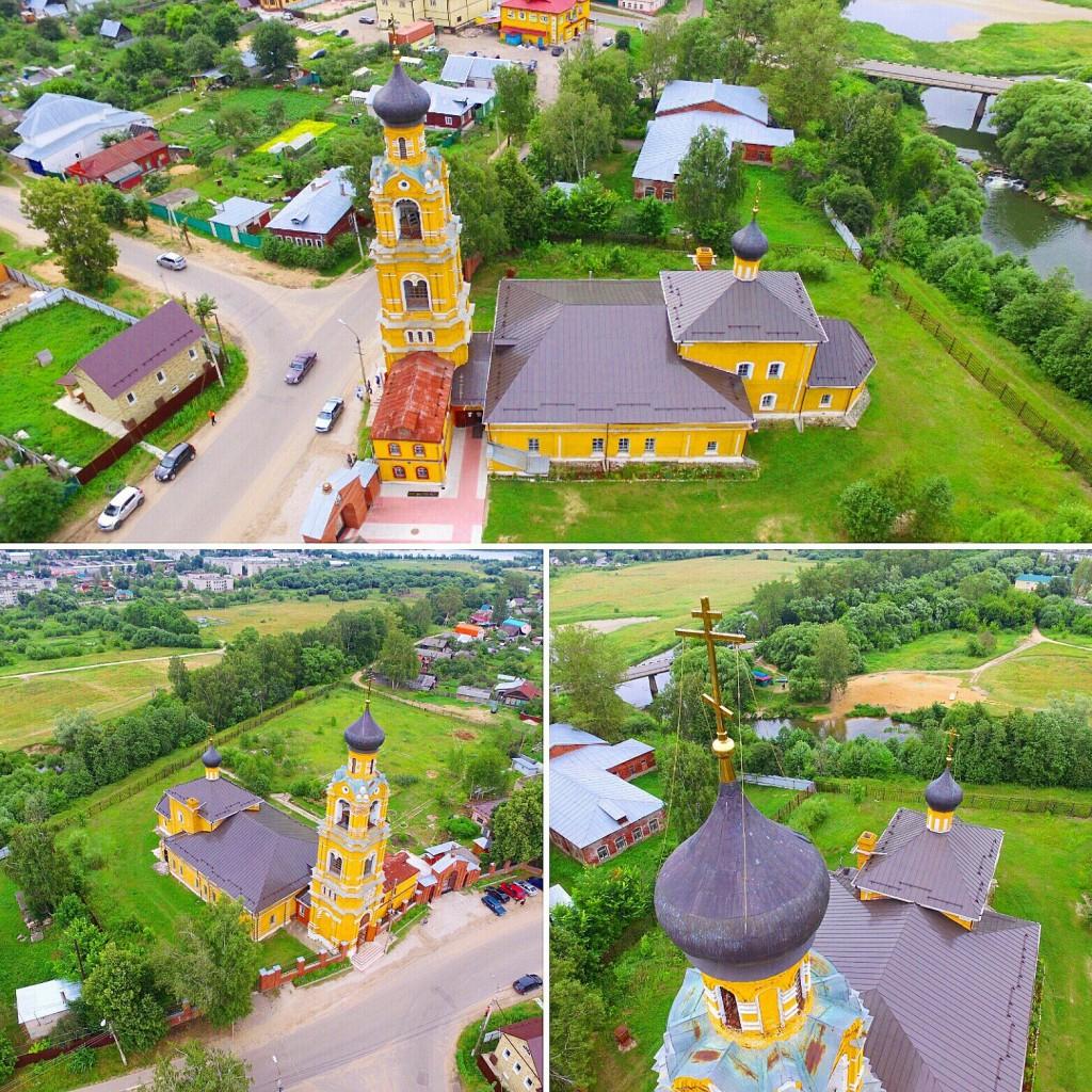 Собор Николая Чудотворца на Селивановой горе в городе Киржач 01
