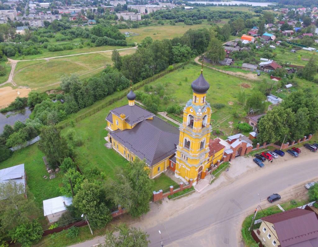 Собор Николая Чудотворца на Селивановой горе в городе Киржач 02
