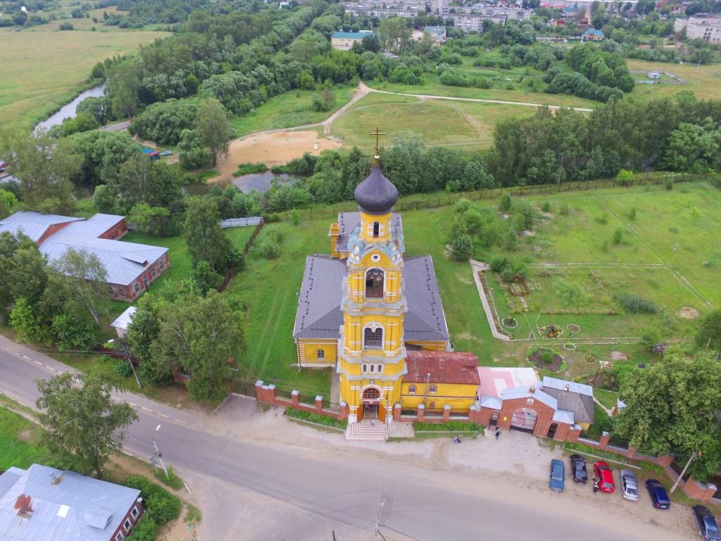 Собор Николая Чудотворца на Селивановой горе в городе Киржач 03
