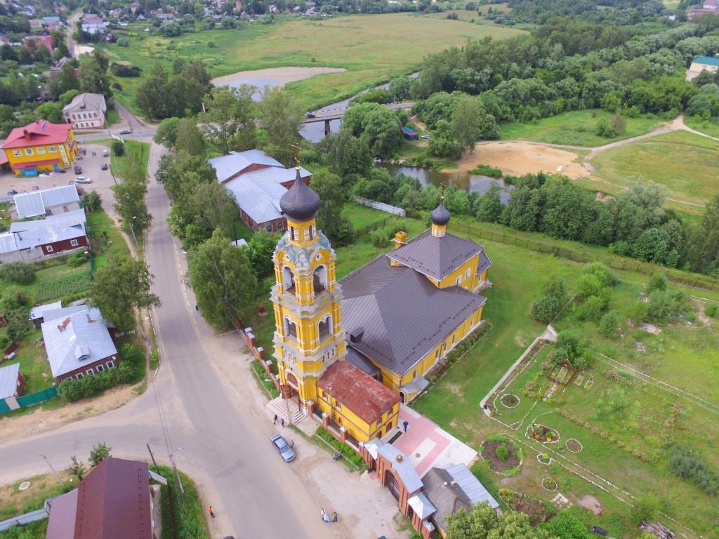 Собор Николая Чудотворца на Селивановой горе в городе Киржач 04
