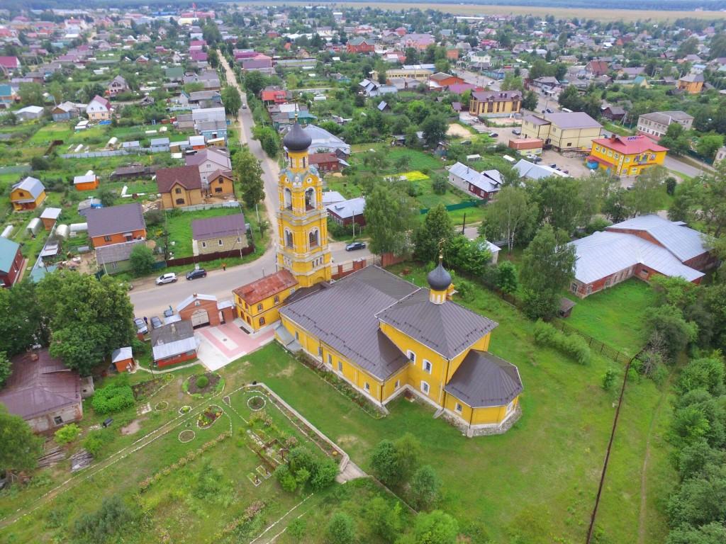 Собор Николая Чудотворца на Селивановой горе в городе Киржач 06