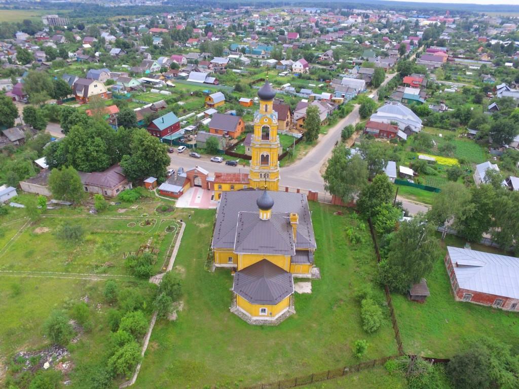 Собор Николая Чудотворца на Селивановой горе в городе Киржач 07
