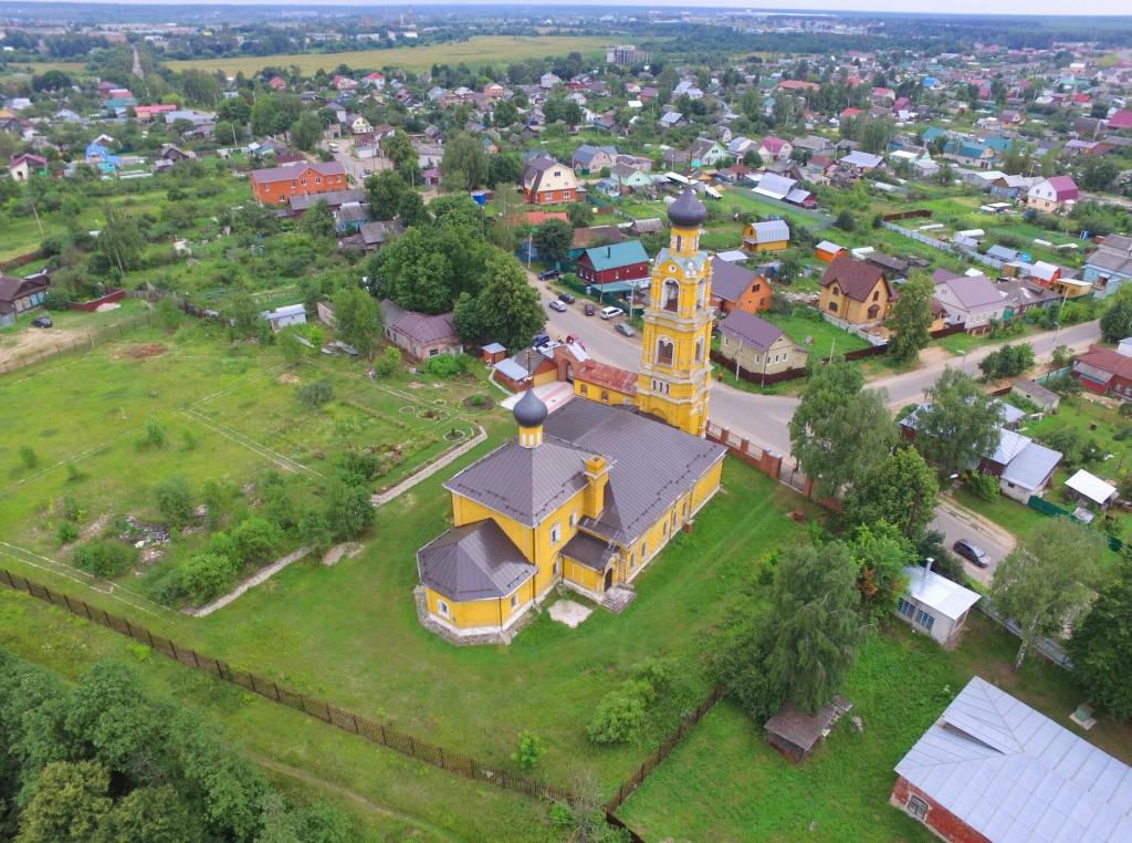 Собор Николая Чудотворца на Селивановой горе в городе Киржач 08