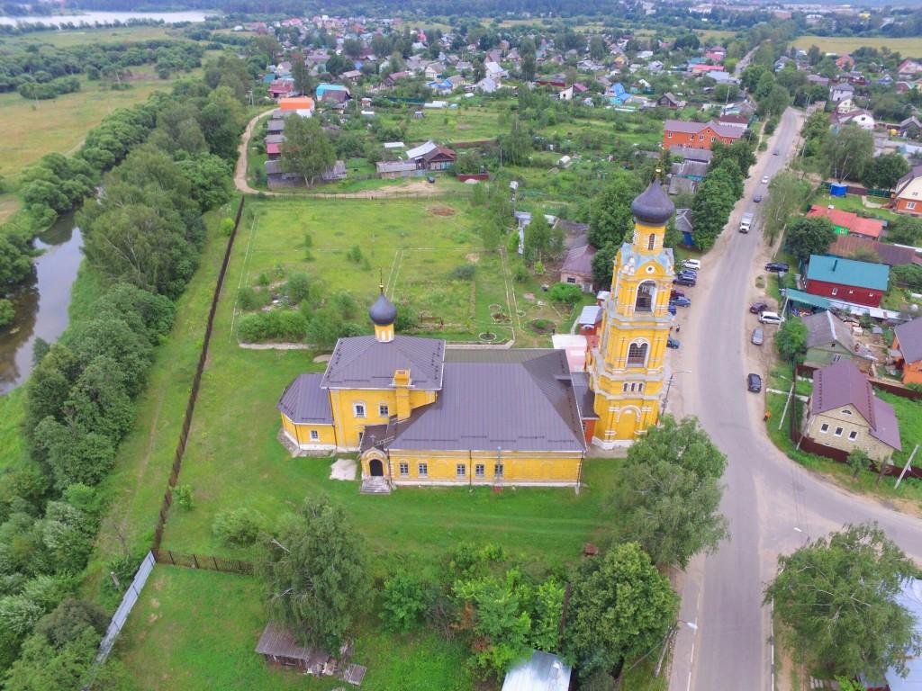 Собор Николая Чудотворца на Селивановой горе в городе Киржач 09