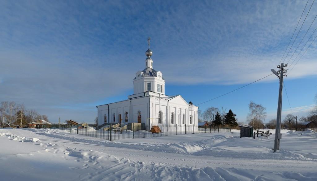 Троицкая церковь, 1829 с. Федоровское, Юрьев-Польский р-н