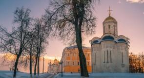 Февральское солнце во Владимире