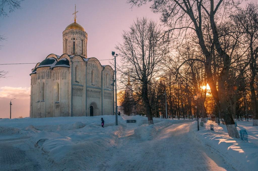 Февральское солнце во Владимире 02