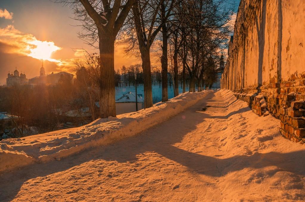 Февральское солнце во Владимире 03