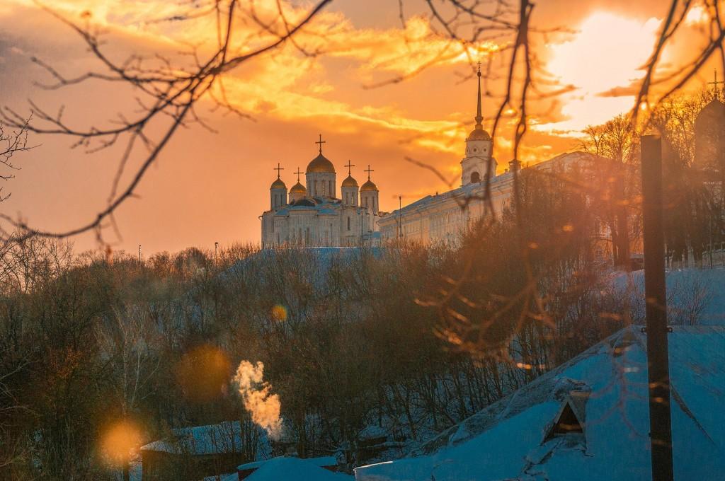 Февральское солнце во Владимире 06