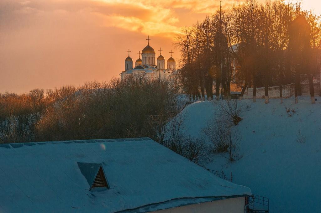 Февральское солнце во Владимире 07