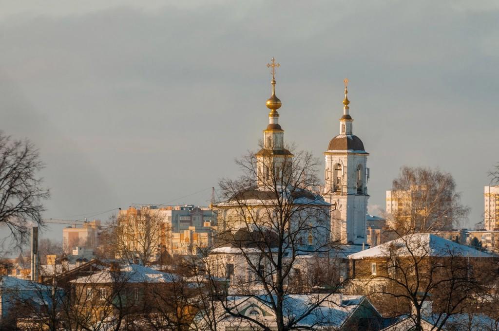 Февраль 2017. Мороз и солнце во Владимире 03