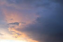 Чудесный закат в Карабаново (лето 2016)