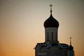 2017.02.07, церковь Покрова На Нерли на закате