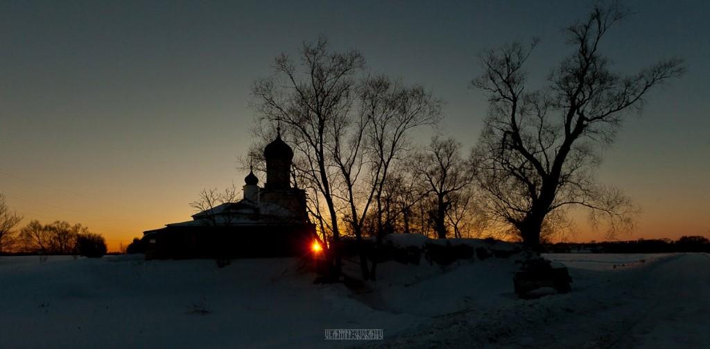 2017.02.07, церковь Покрова На Нерли на закате 04