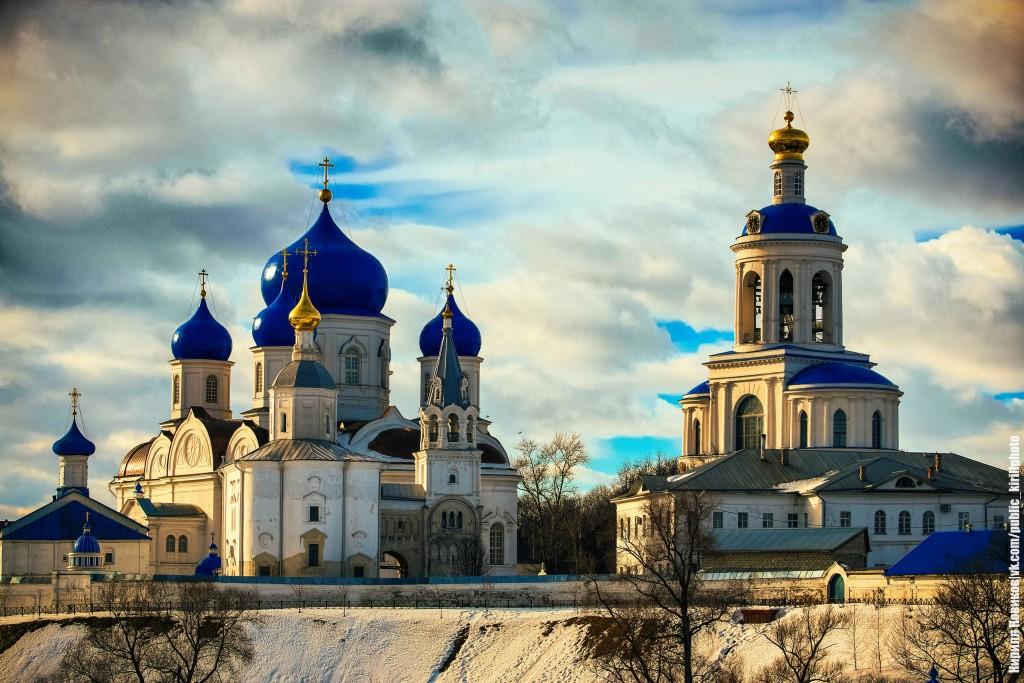 Боголюбовский луг и церковь Покрова на Нерли в последние, солнечные февральские дни уходящей зимы 09