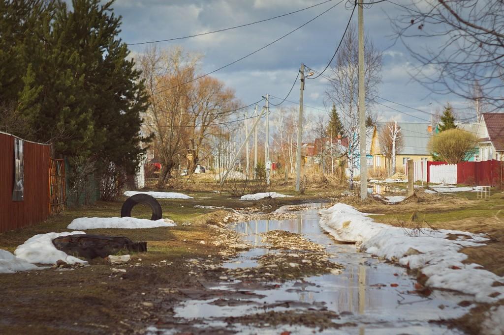 Весна во Владимирской деревне 02