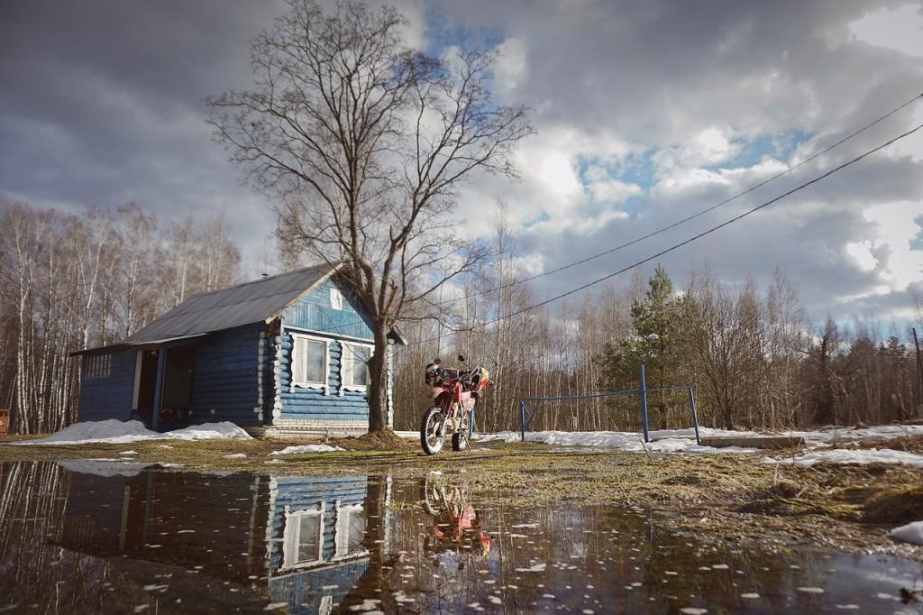 Весна во Владимирской деревне 03