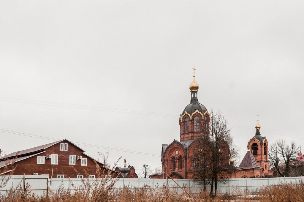 Город Владимир. Капризный март ( ветер, дождь,грязь и немного тумана) 02