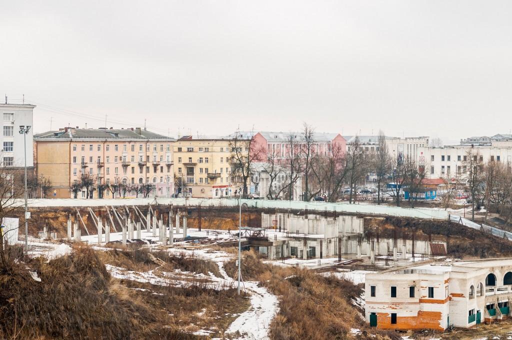 Город Владимир. Капризный март ( ветер, дождь,грязь и немного тумана) 03