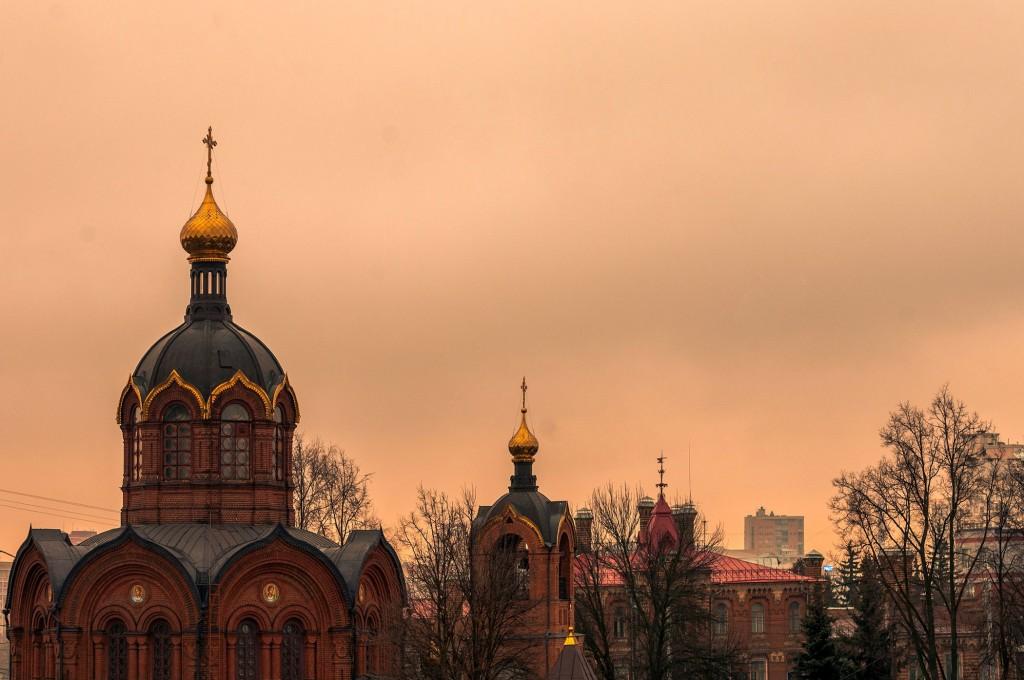 Город Владимир. Капризный март ( ветер, дождь,грязь и немного тумана) 04